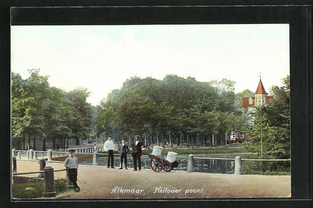 AK Alkmaar, Heiloöer poort