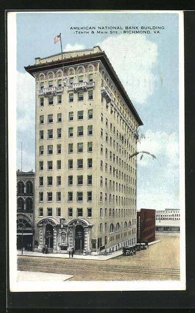AK Richmond, VA, American National Bank Building