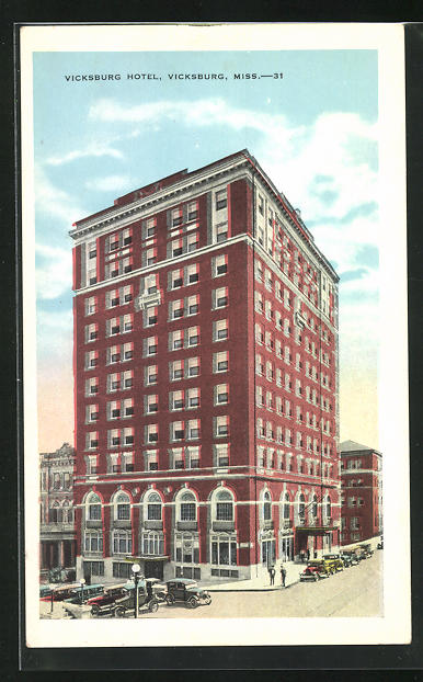 AK Vicksburg, Hotel Vicksburg