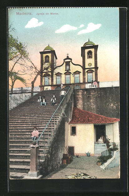 AK Madeira, Igreja do Monte