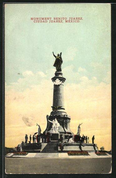 AK Ciudad Juarez, Monument Benito Juarez
