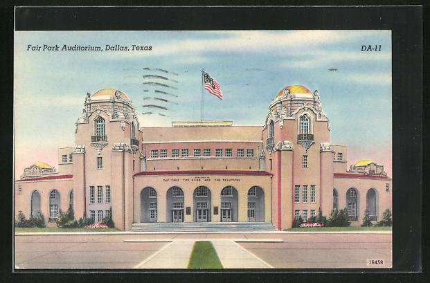 AK Dallas, TX, Fair Park Auditorium