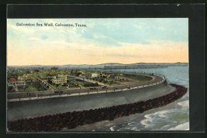 AK Galveston, TX, Galveston Sea Wall