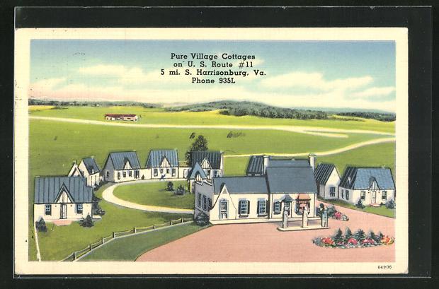 AK Harrisonburg, VA, Pure Village Cottages on U.S. Route # 11