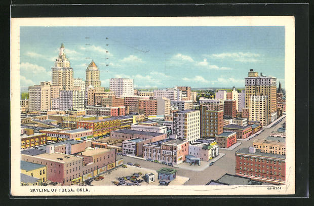 AK Tulsa, OK, Skyline of the City
