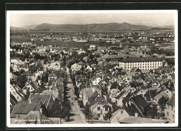 AK Stavanger, Utsikt fra Valand