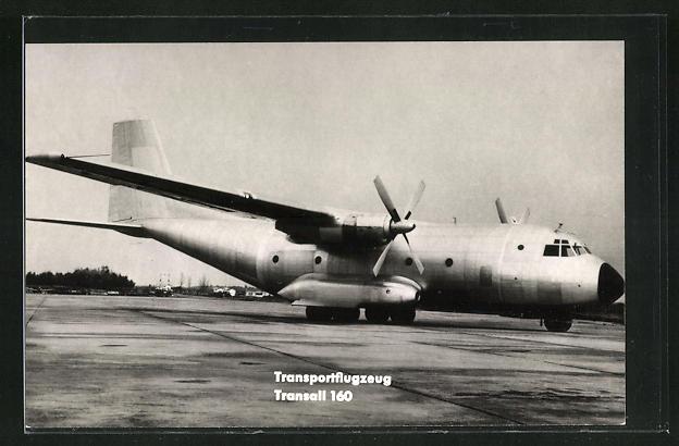 AK Transportflugzeug Transall 160 der Bundeswehr