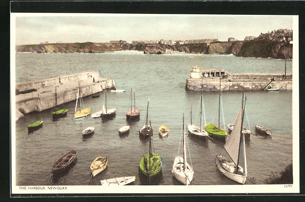 AK Newquay, The Harbour, am Hafen