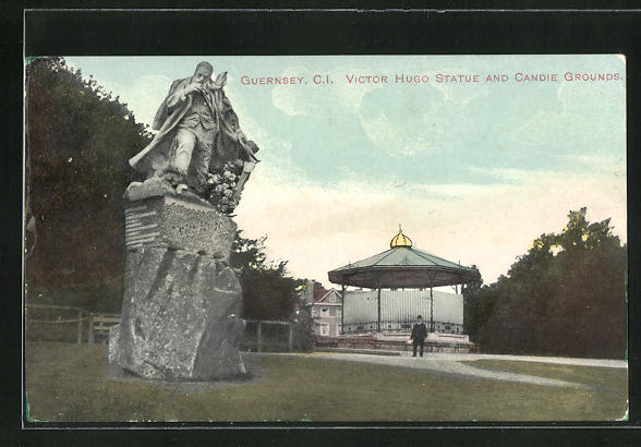 AK Guernsey, Victor Hugo Statue and Candie Grounds