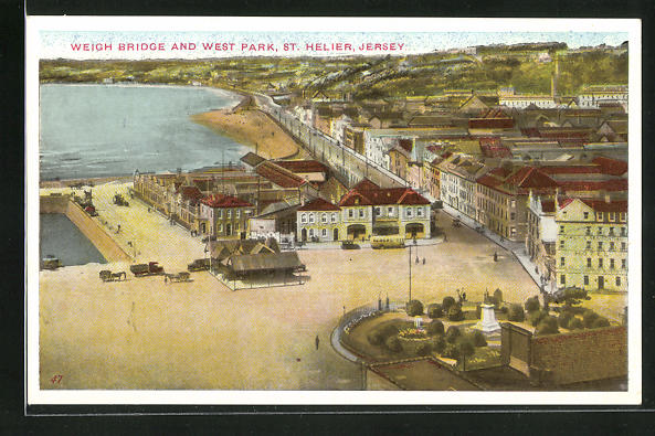 AK St. Helier / Jersey, Weigh Bridge and West Park