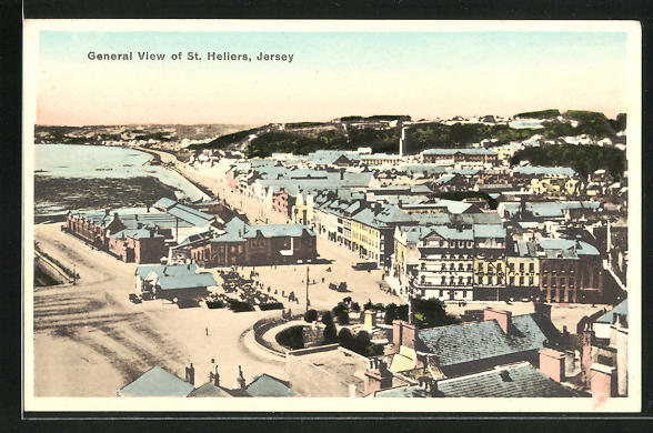 AK St. Helier / Jersey, General View of the Town
