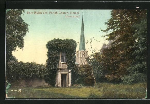 AK Hempstead, Bury Ruins and Parish Church