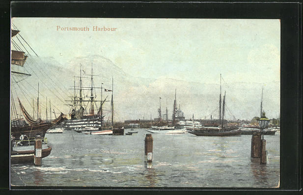 AK Portsmouth, View of the Harbour