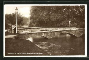 AK Bourton-on-the-Water, The Venice of the Cotswolds, Bridge