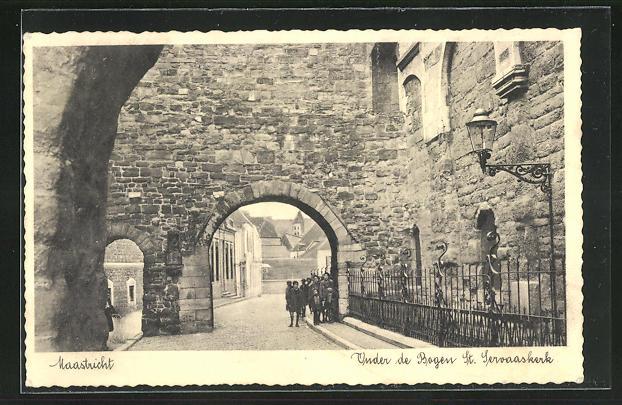 AK Maastricht, Onder de Bogen St. Servaaskerk