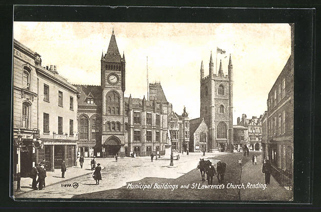 AK Reading, Municipal Buildings and St. Lawrence`s Church
