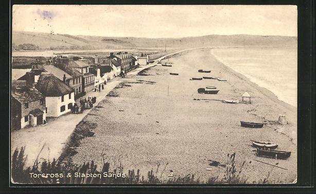AK Torcross, Village and Slapton Sands