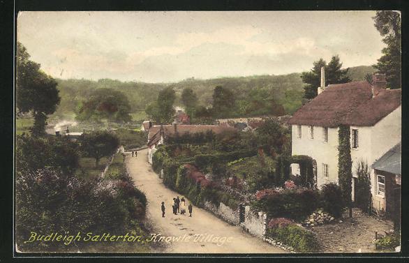 AK Budleigh Salterton, Street in Knowle Village