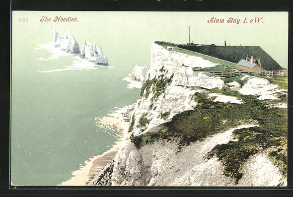 AK Alum Bay, View of the Needles