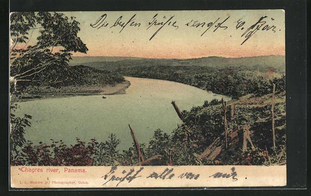 AK Panama, Chagres river