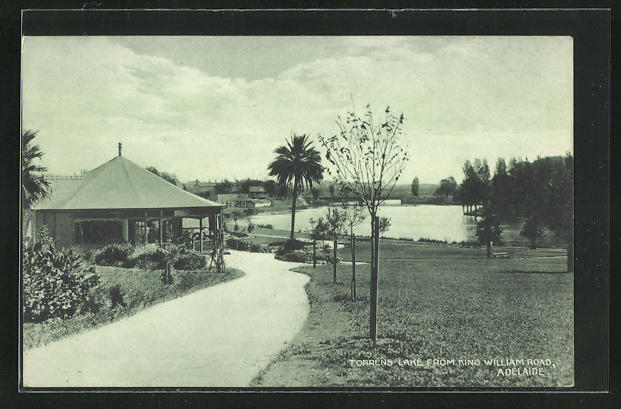 AK Adelaide, Torrens Lake from King William Road
