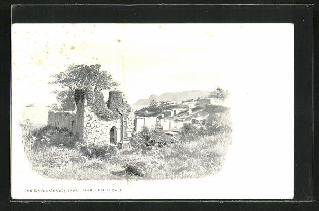 AK Cushendall, The Layde Churchyard