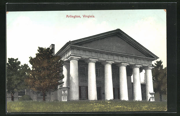 AK Arlington, VA, The Custis Lee Mansion