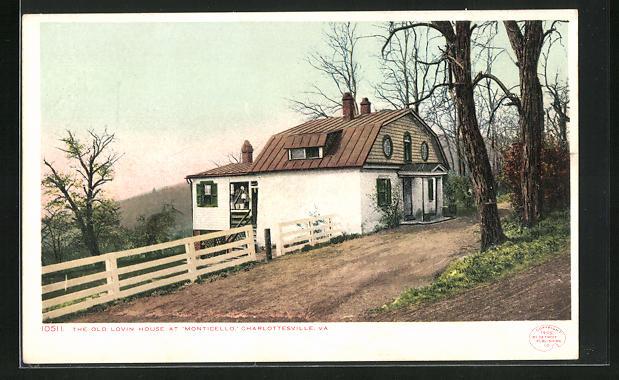 AK Charlottesville, VA, , The old lovin house at Monticello