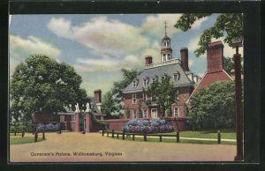 AK Williamsburg, VA, Gouvernor`s Palace