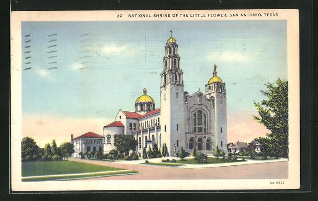 AK San Antonio, TX, National Shrine of the Little Flower