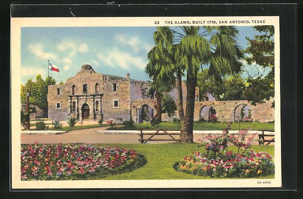 AK San Antonio, TX, The Alamo, built 1718