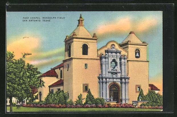 AK San Antonio, TX, Post Chapel, Randolph Field