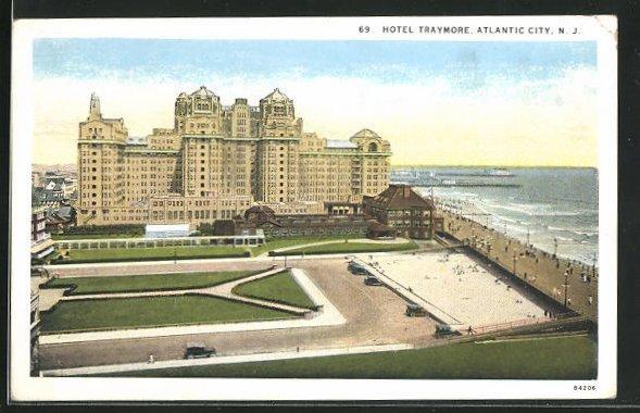AK Atlantic City, NJ, Hotel Traymore