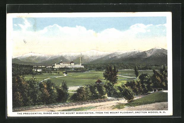 AK Bretton Woods, NH, The Presidential Range and the Mount Washington