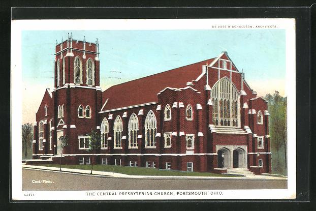 AK Portsmouth, OH, The Central Presbyterian Church