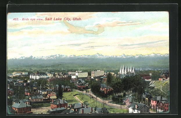 AK Salt Lake City, UT, View on Birds Eye