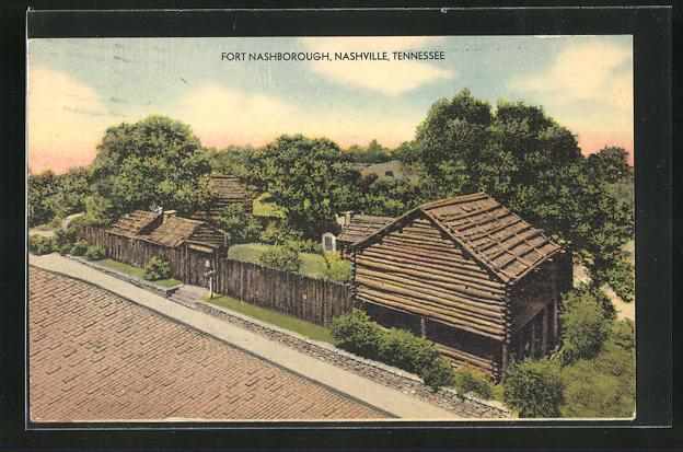 AK Nashville, TN, View on Fort Nashborough