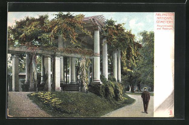 AK Arlington, National Cemetery, Amphitheatre and Rostrum