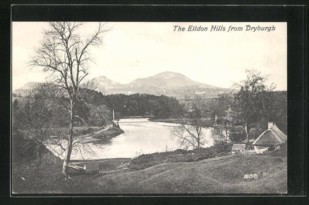 AK Dryburgh, the Eildon Hills