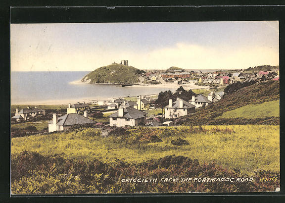 AK Criccieth, View from the Portmadoc Road