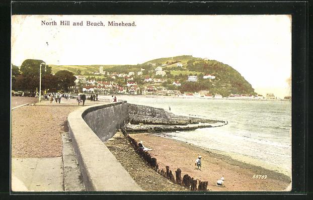 AK Minehead, North Hill and Beach