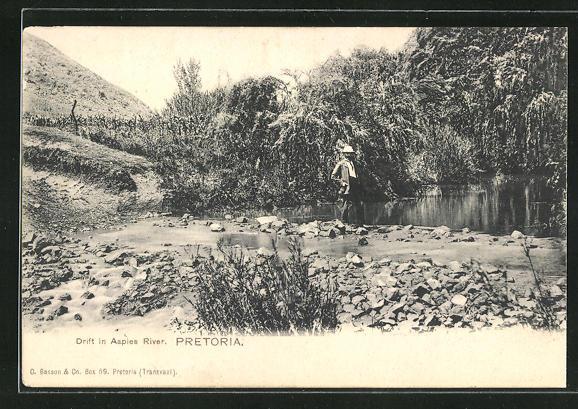AK Pretoria, Drift in Aapies River