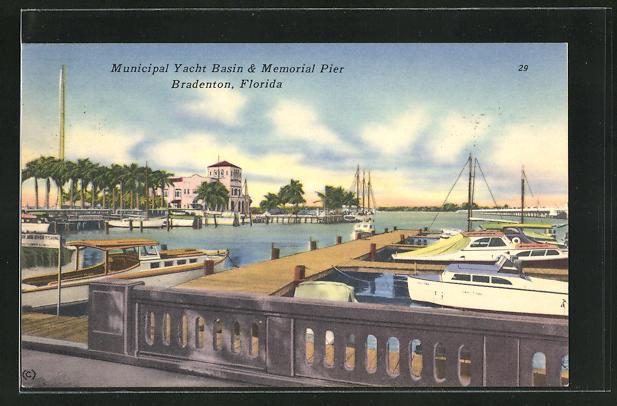 AK Bradenton, FL, Municipal Yacht Basin & Memorial Pier
