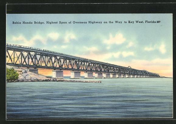 AK Key West, FL, Bahia Honda Bridge