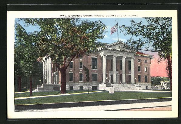 AK Goldsboro, NC, Wayne County Court House