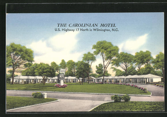 AK Wilmington, NC, the Carolinian Motel