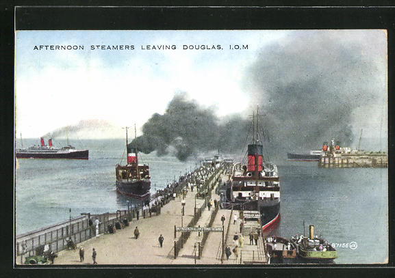 AK Douglas, Afternoon Steamers leaving