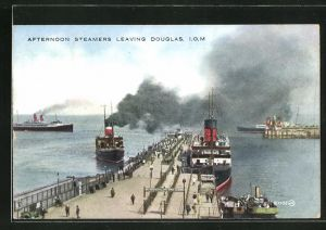 AK Douglas, Afternoon Steamers leaving