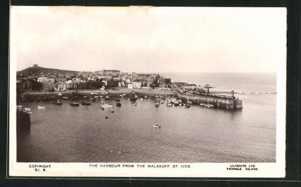 AK St. Ives, The Harbour from the Malakoff