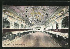 Foto-AK Blackpool, The Palace Ball Room